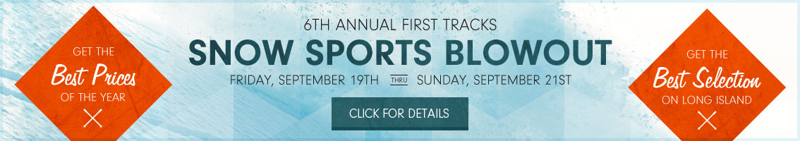 Save the Date - First Tracks Snow Sports Blowout